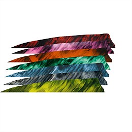 Shield 4 inch Feather (Specialty Colour 10 Pack)