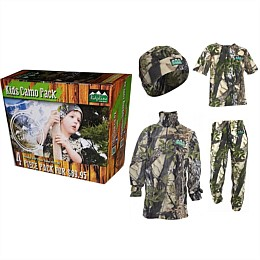 Kids Camo Pack 4 Piece
